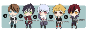 K-Pop Boys Adopts [CLOSED] by cherskelle