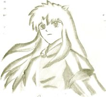 My anime hero: Inuyasha by CutePoochyena261