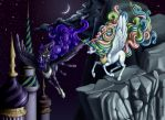 Nightmare Moon Appears! by ultraspacemobile
