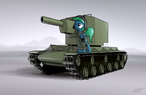 KV2 Tank - Commission for Suclearnub by Dori-to