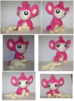 Shiny Aipom Plush by sorjei