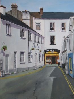 King Street Loughrea by Hiberniart