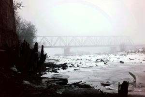 River in Winter by julismith
