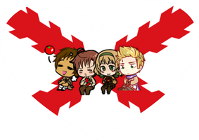 Tomato Gang Shimeji Heart by LadyAxis