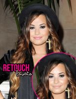 Retouch Lovato by welovefamous
