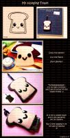 Hanging Toast by ChocoAng3l