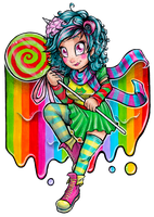 Candy Roxy by mooncupcake