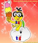 YVON LAKITU EATS A ICE CREAM by HOBYMIITHETACTICIAN
