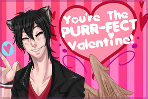 NA: Leon's V-Day card by NightmareInspections