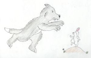 Werewolf vs Bunny: Part One by Traxer