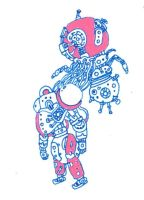 Roboto by Rayleighev