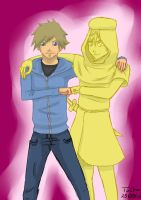 Pewdie and Stephano by Tirilno