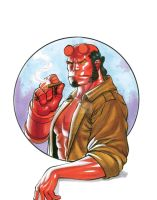 Hellboy by JacksonHerbert