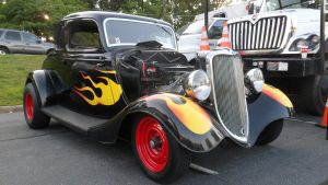 Flamed Ford by hankypanky68