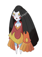 Geisha Fakemon Appeared by HourglassHero