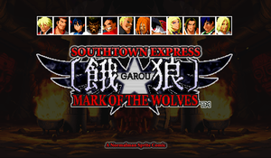 Garou Title Page by SouthtownExpress