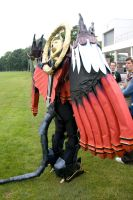 Amecon 2012 FFX Bahamut back by Mangamad