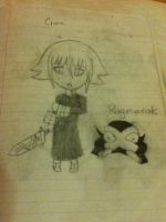 Crona and Ragnarok by kaitolova