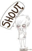 Gaiaonline SHOUT my namee by momino