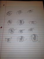Eyes practice by dastrax64