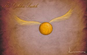 The Golden Snitch - Harry Potter by Louisetheanimator