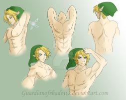 Link Anatomy Practice by GuardianOfShadows