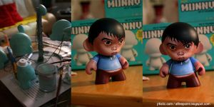 munny self portrait by psmonkey