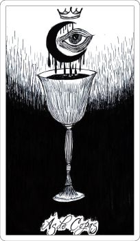 Ace of Cups by Hekator