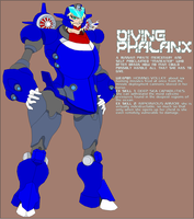 Diving Phalanx by Tyrranux
