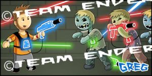 Zombies and Lasers by Buzz-On