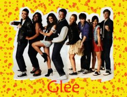 """Casual"" Glee Cast :3 by Thundervalley"