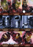 Iron Man II set 1 by gattadonna