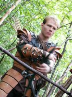 Leather armor by draks