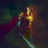 Knight by elbardo