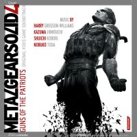 MGS4 OST Alt. Cover by IvanValladares