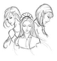 My Characters in DAO by Elistraie