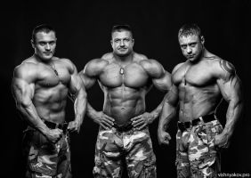 Piter-Athletic strongman show by vishstudio