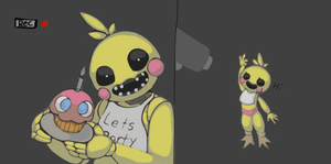 Toy Chica (old version) by LadyMaid-of-Pokemon