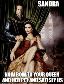 Sandra Bow down Outlaw Queen by turtle1965
