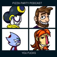Pizza Party Podcast Demon Days (Untinted) by GhosTyce