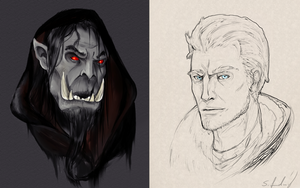 Warcraft Doodles by Fluseic
