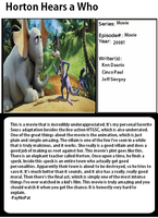 1001 Animations: Horton Hears A Who by PayNoPat