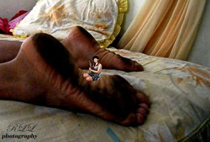 The Dream on Zuleika's Soles by LazareLobo