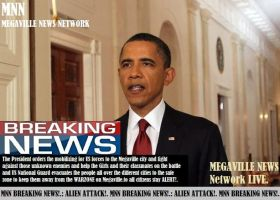 MEGAVILLE NEWS NETWORK:The President's statement by SoapMacTavishTF141