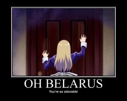 Belarus Motivational Poster by pandaday12
