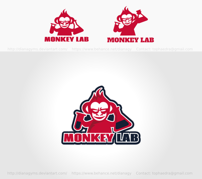 Mad Monkey Logo by DianaGyms