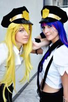 Panty and Stocking [Police] by TheMaraudersProngs