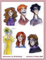 HP - DH marker sketches by Sidus-U