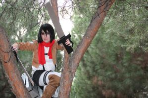 Mikasa Ackerman - Japan Weekend by PhotoSoof