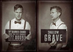 Th' Damned Crows Mugshots - Sven by Dr-Benway
